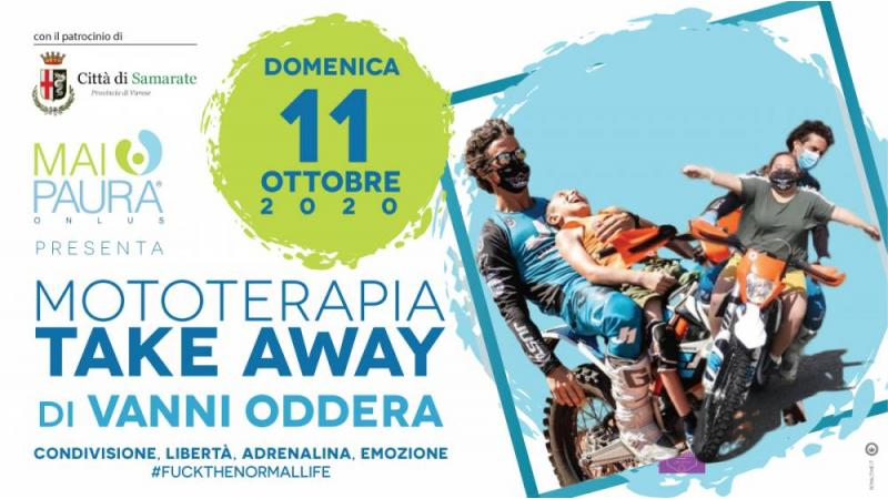 "NOTA STAMPA ""MOTOTERAPIA TAKE AWAY – GRAN FINALE A SAMARATE"""