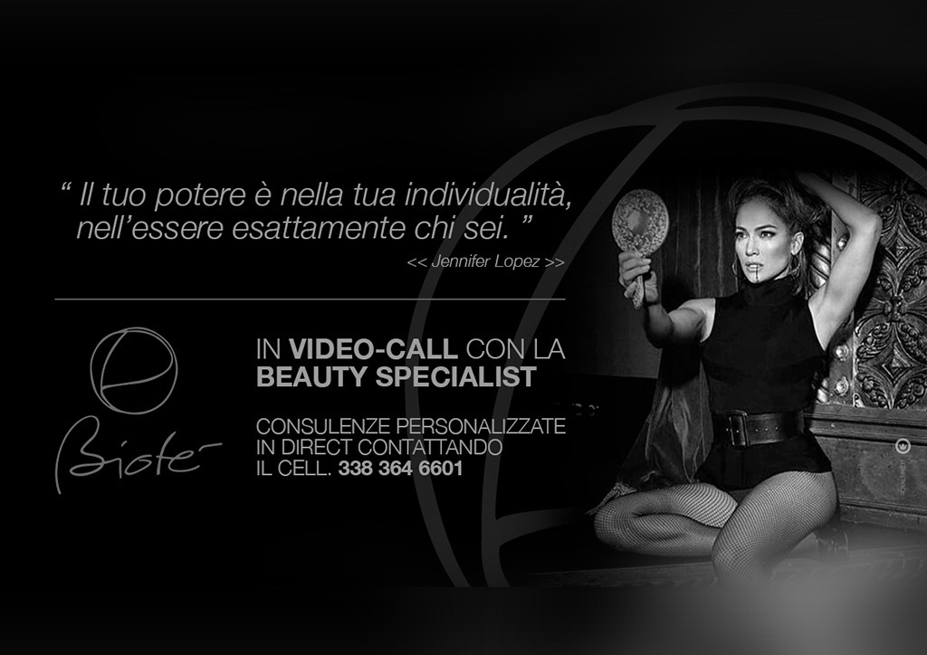 IN VIDEO-CALL CON LA BEAUTY SPECIALIST: